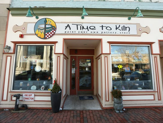 A Time to Kiln, a Red Bank based business owned by