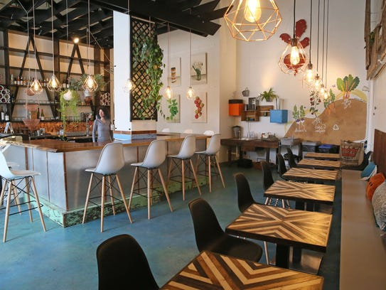 The expanded Urban Beets, at 1401 N. King Drive, has