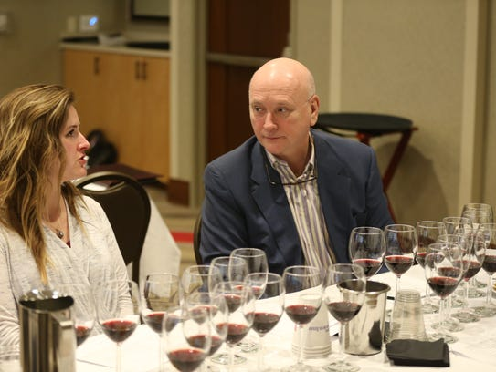 Jenna Russeau, Central Wine, and Patrick Norton, the