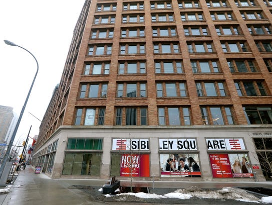 The old Sibley building is leasing residential and