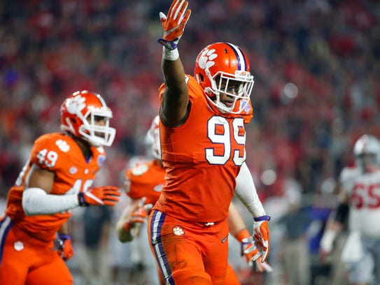 Clelin Ferrell will be back on Clemson's defensive