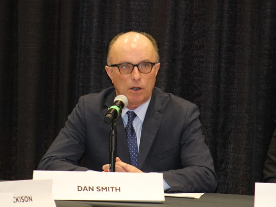 Dan Smith, division administrator of the Division of