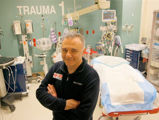 Dr. Alex Di Stante was a key figure in bringing a trauma
