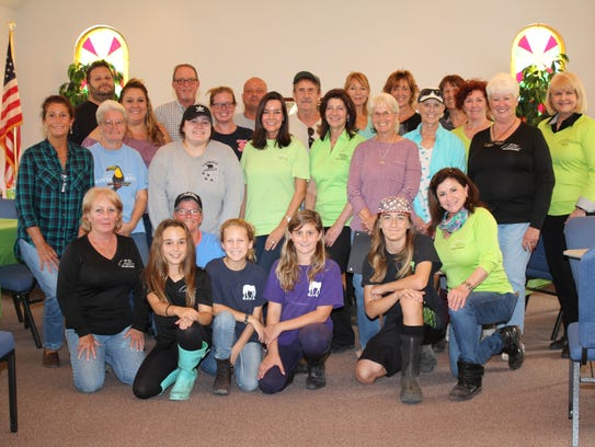 Volunteers of the Equine Rescue and Adoption Foundation