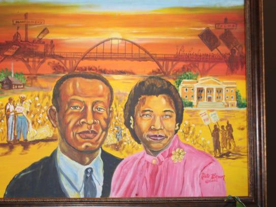Alabama voting rights pioneers Samuel and Amelia Boynton