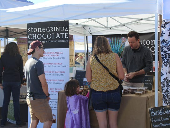 Stone Grindz Chocolate sells small-batch sweets at