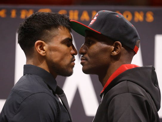 Victor Ortiz and Devon Alexander will square off in