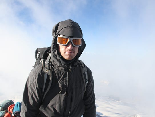 Todd Pendleton climbed Mount Elbrus in Russia in 2015.