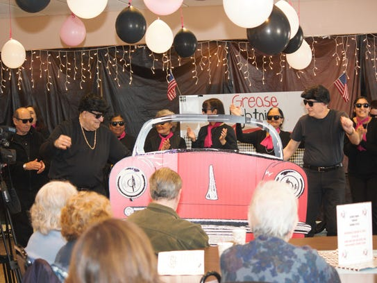 """Scenes from Grease – Montgomery Senior Center Style"""
