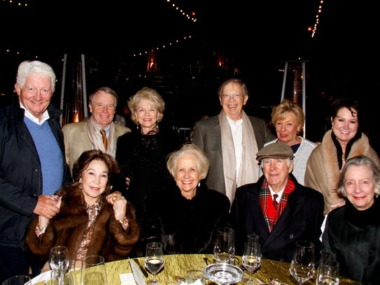 Standing (L) Gary Sitzmann, Ed and Carolyn Bruce, William