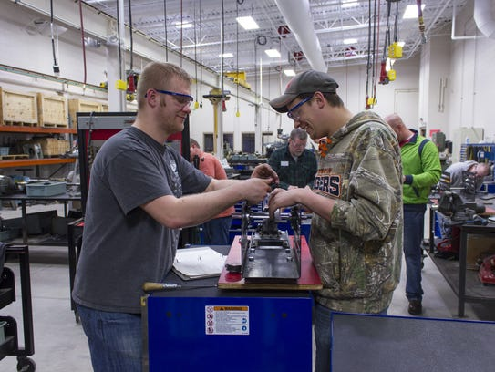 Employees from a local manufacturer received workforce