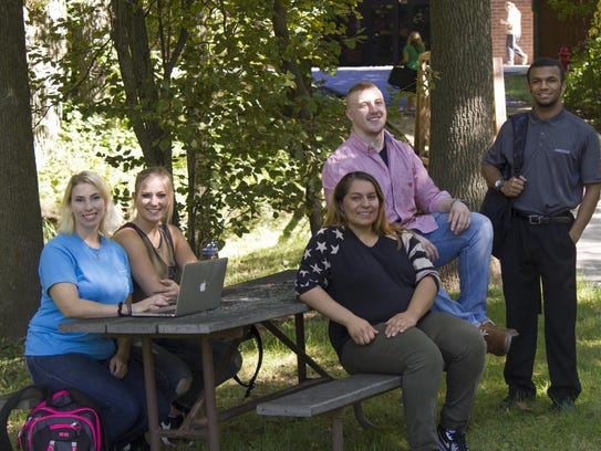 A group of Lakeshore Technical College's Criminal Justice