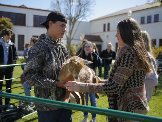 Salinas High agriculture students celebrated National