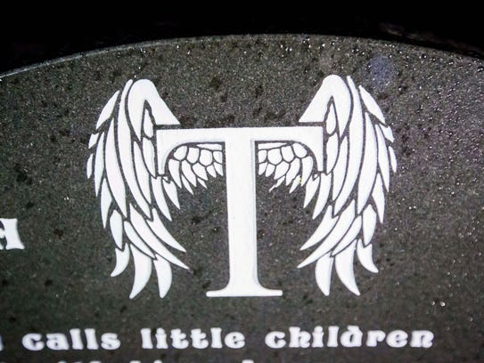 The gravesite of Tierra Stansberry at Shaul Cemetery