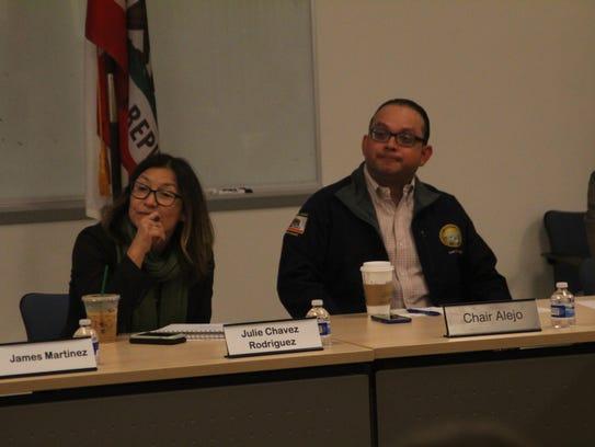 Julie Chavez Rodriguez, state director for Sen. Kamala