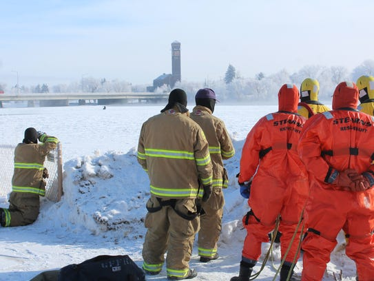 Great Falls Fire Rescue personnel keep close tabs on