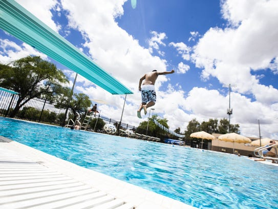 Hamilton Aquatic Center in Chandler is open daily during