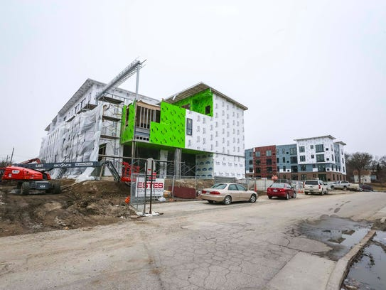 Soll Apartments on Ingersoll Avenue on Tuesday, March