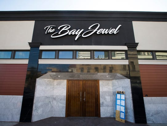The Bay Jewel event center on Wednesday, March 21,