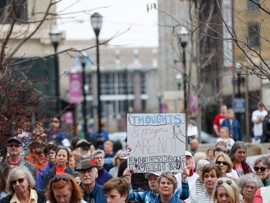 Scenes from the March For Our Lives rally at Park Central