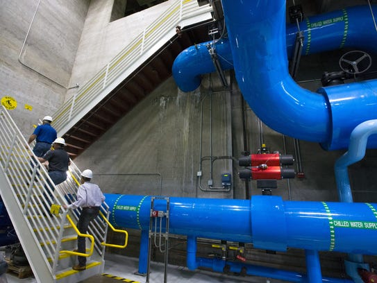 NRG Energy operates an underground cooling system near