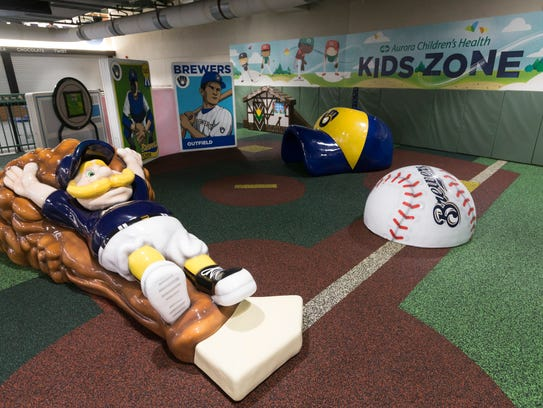 The newly renovated Aurora Health Care Kids Zone located