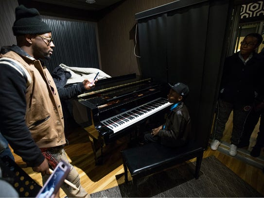 Musician Wyclef Jean drops in to Lakehouse Music Academy