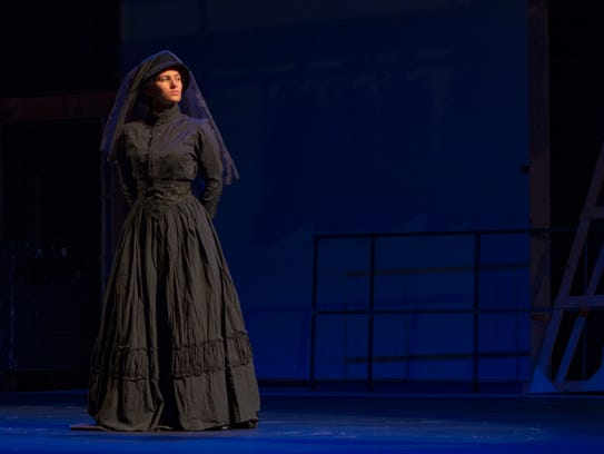 """York College presents """"The Woman in Black,"""" April 12-14."""