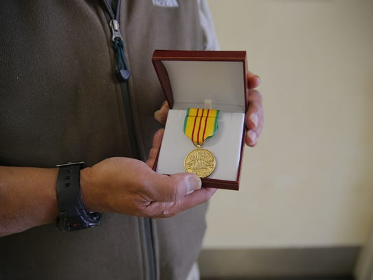 Johnnie Johnson was awarded the Vietnam Service Medal