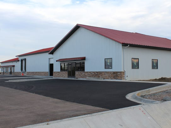 The newly completed offices for Friesen Nutrition off off 6th Street SW in Great Falls.