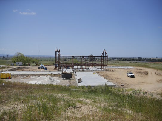 Construction underway for the Ted Taylor Vocational