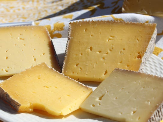 Cheese is available year-round at WNC tailgate markets.