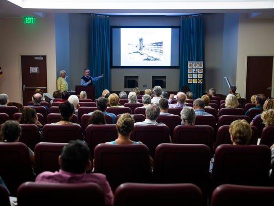 Holocaust survivor Pieter Kohnstam speaks about his