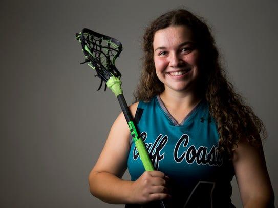 Gulf Coast lacrosse player Shelby Weinberg.