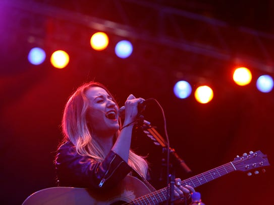 Margo Price performs at Beale Street Music Festival