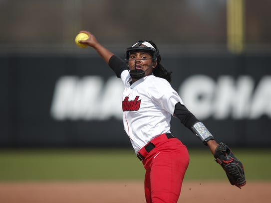 Ball State's Aeshia Miles is 18-8 with a 2.01 ERA heading