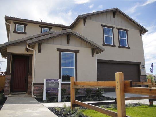 Model homes for the houses that will be available for