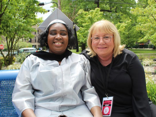 Union County College Graduate Claress Knight and Union