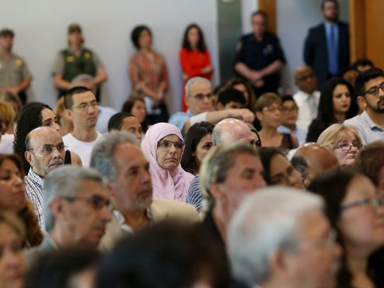 50 new citizens were sworn in during Friday's naturalization