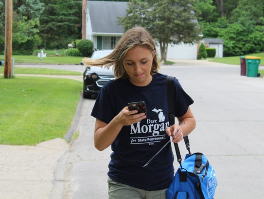 Maggie Wood is the 18-year-old campaign manager for