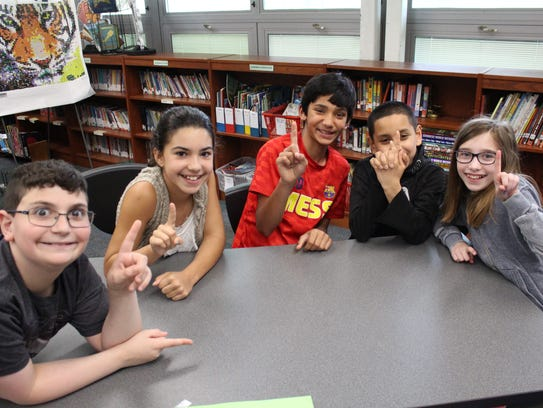 The Reading Rock Stars from Angelo L. Tomaso School