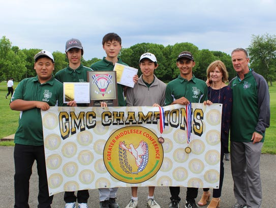 Golfers pictured (left to right): Steve Kim, Eagan