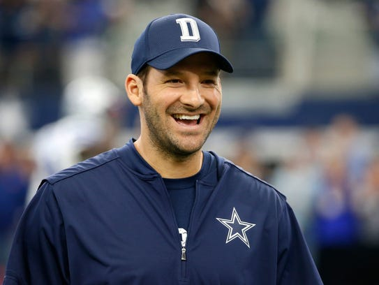 Burlington native Tony Romo is in the Round of 16 at
