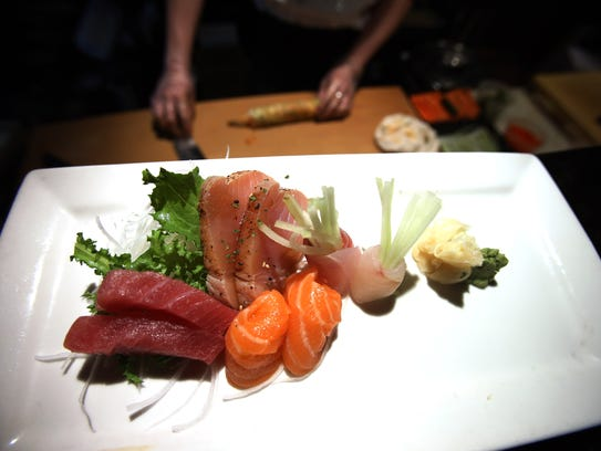 Japanese and thai dishes at sogo sushi house hibachi in for Asian fusion cuisine and sushi bar