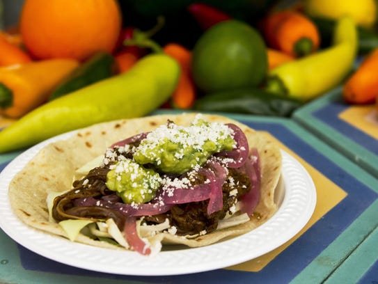 Joyride tacos were sold at the annual Arizona Taco