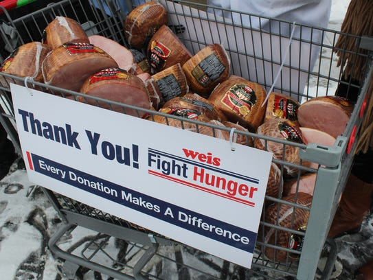 Weis Markets and Hormel Foods partnered to donate 10,000