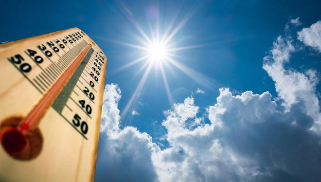 San Angelo could see some relief after 16 days of temperatures in the 100s.