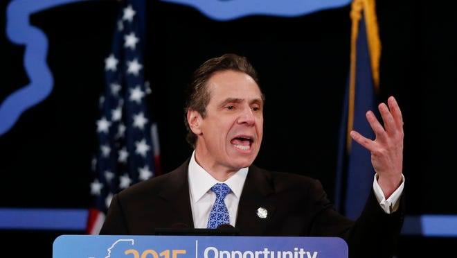 Gov. Andrew Cuomo delivers his State of the State address and executive budget proposal Wednesday in Albany.