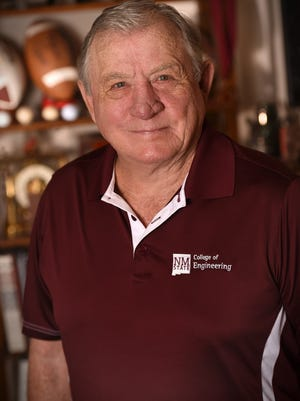 04/25/2016: NMSU football legend Charley Johnson.