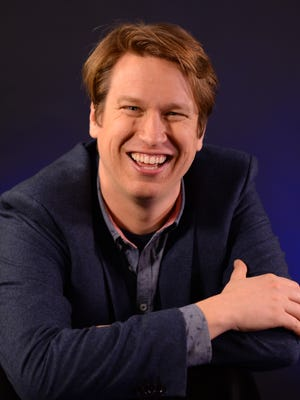 Comedian/actor Pete Holmes, 37, stops by USA TODAY's New York office to discuss his HBO series 'Crashing.'